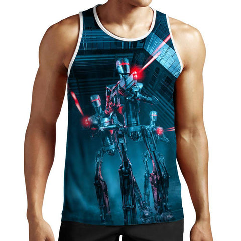 Image of Robot Tank Top
