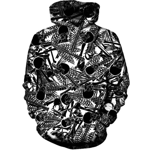 The Boneyard Womens Hoodie