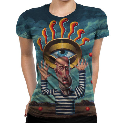 Image of The Eye Of Karma Womens T-Shirt