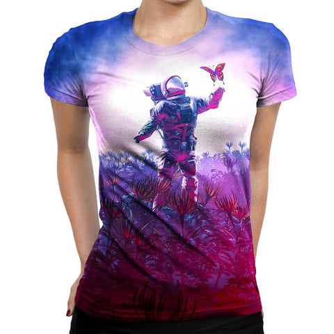 Image of Astronaut Womens T-Shirt
