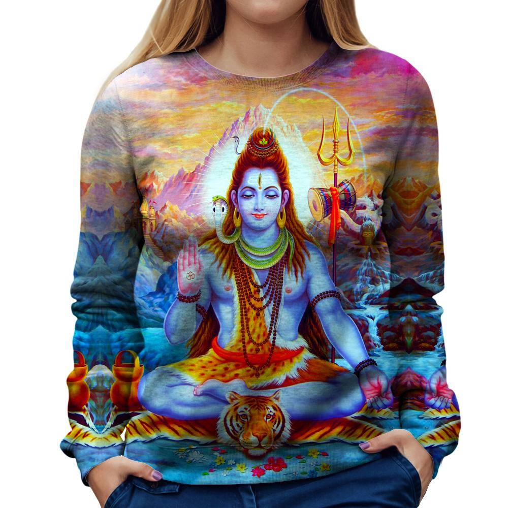 The Great Shiva Womens Sweatshirt