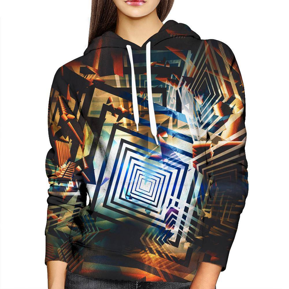 Psychedelic Womens Hoodie