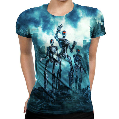 Image of Robot Womens T-Shirt