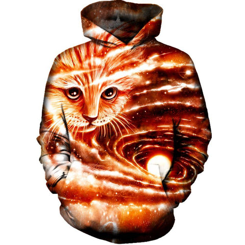 The Visiting Cat Hoodie