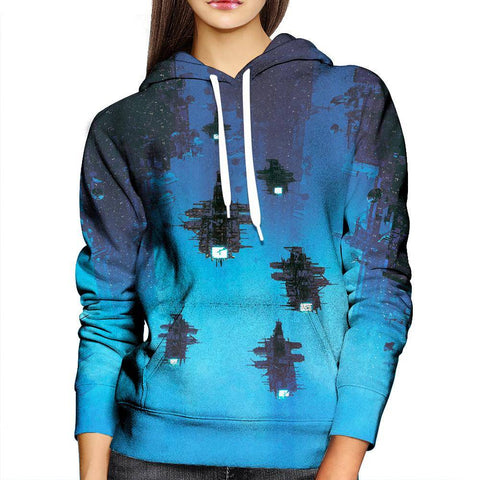 Image of Sci-fi Womans Hoodie