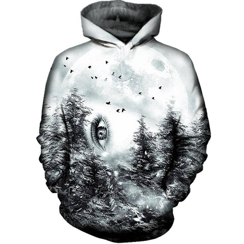 The Watcher Womens Hoodie