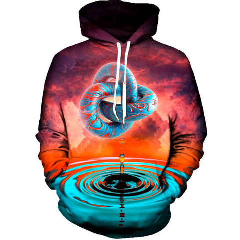 Image of A Psychedelic Hoodie