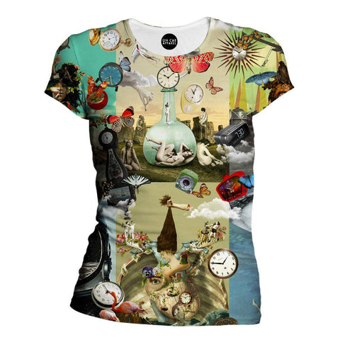 Image of Time Flies Womens T-Shirt
