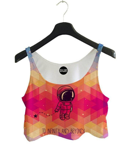 To Infinity and beyond Crop Top