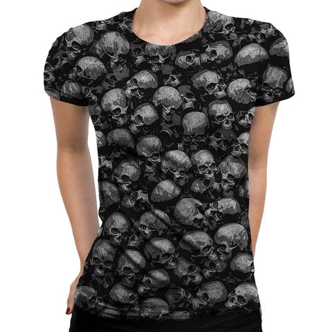 Image of Skull Womens T-Shirt