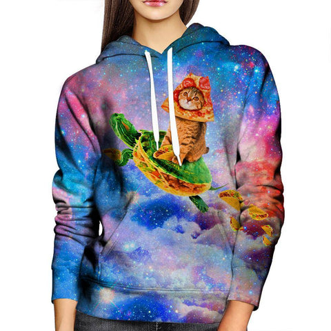 Image of Turtle Taco Cat Womens Hoodie