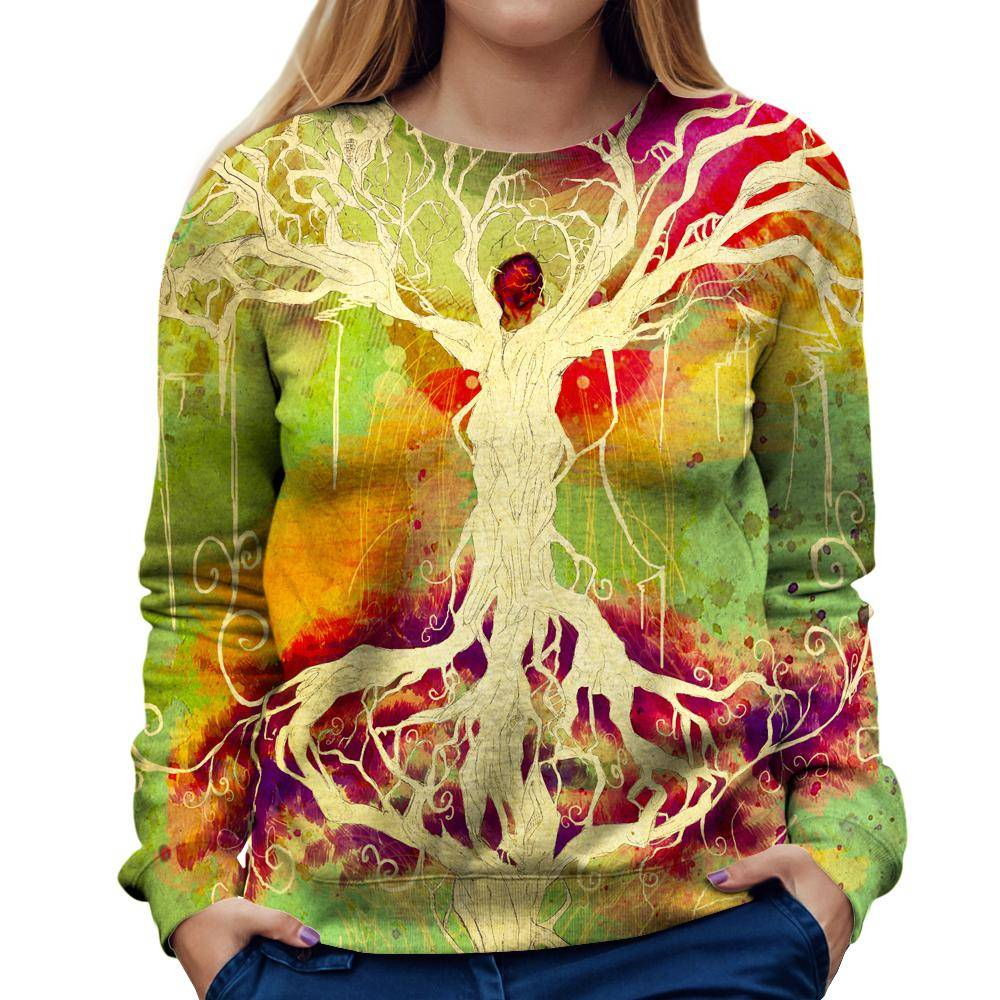Unity Of Life Womens Sweatshirt