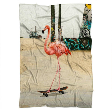 Flamingo Blanket