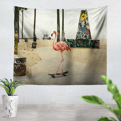 Flamingo Tapestry
