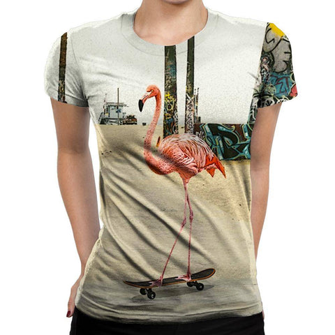 Flamingo Womens T-Shirt