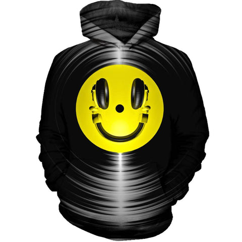 Image of Vinyl Headphone Hoodie