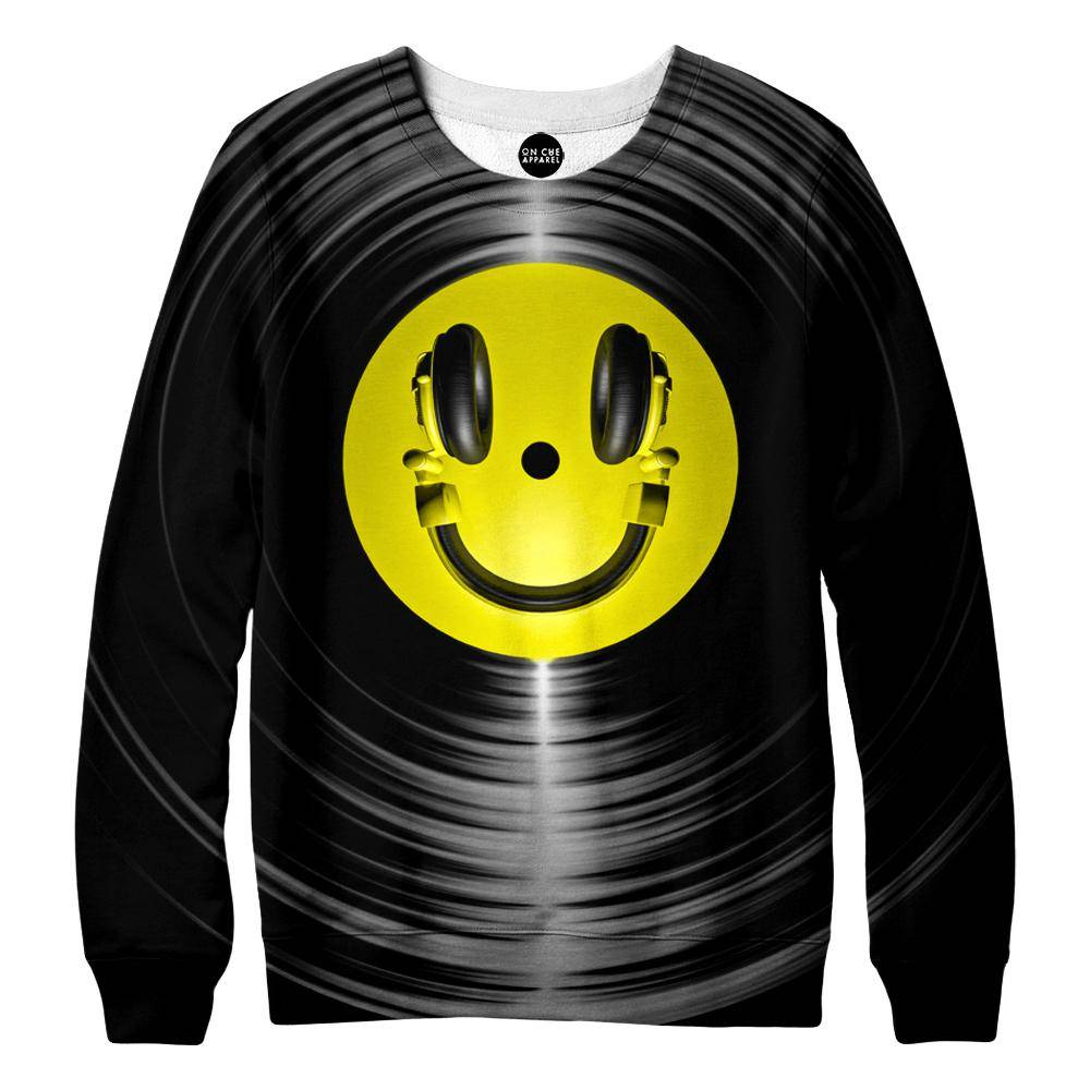Vinyl Headphone Sweatshirt