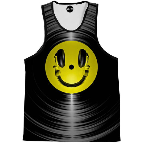 Vinyl Headphone Tank Top