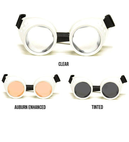 Image of GloFX White Diffraction Goggles