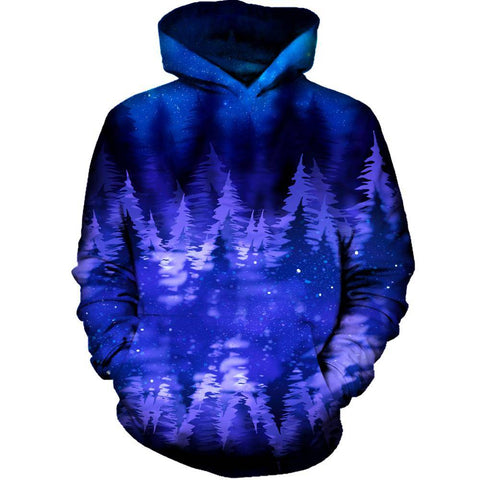 Image of Blue Pines Womens Hoodie