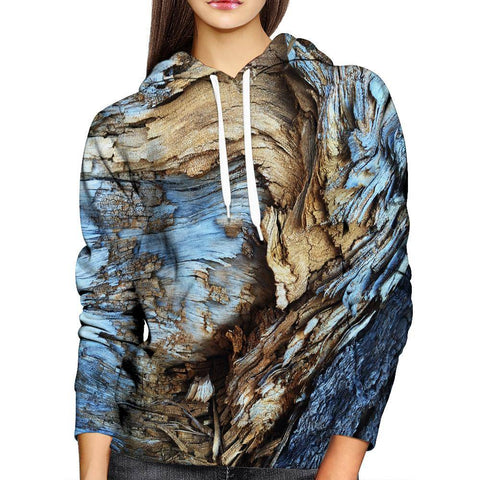 Image of Wood Womens Hoodie
