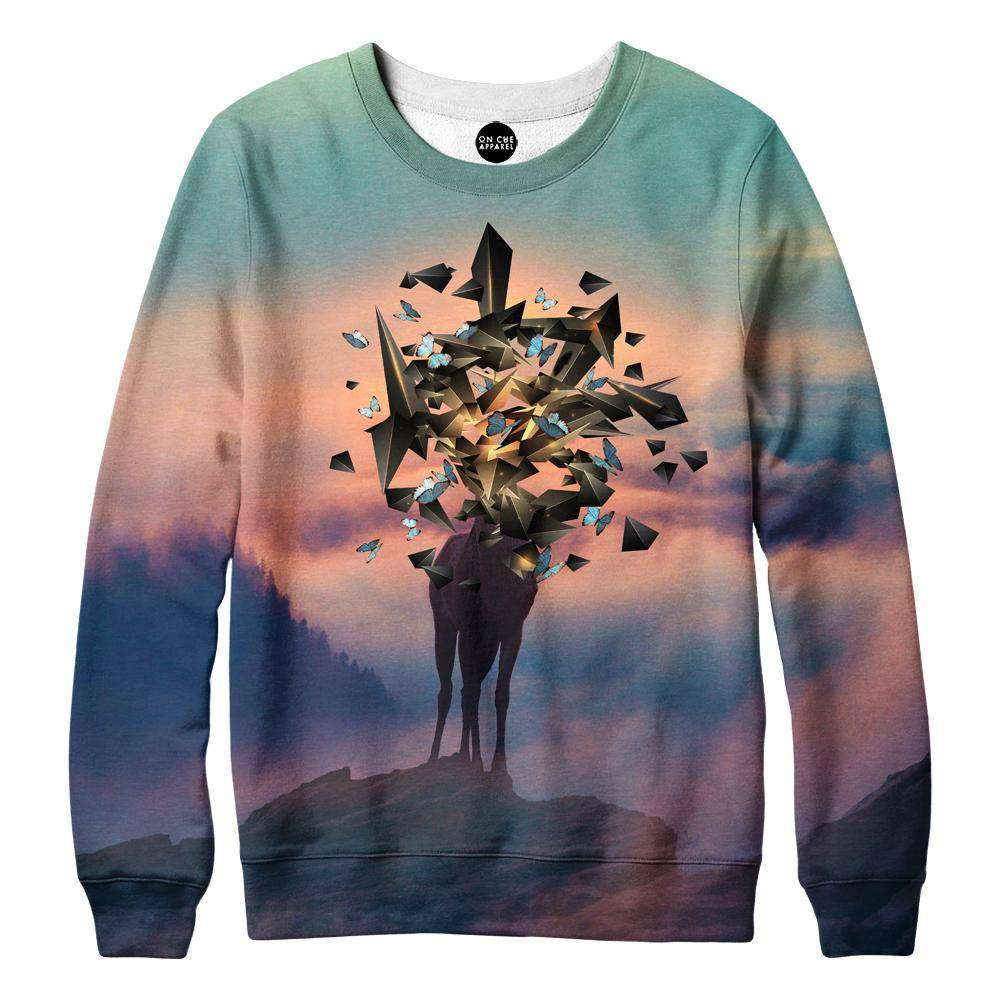 Deer Shapes Sweatshirt