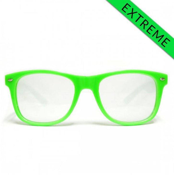 GloFX Ultimate EXTREME Diffraction Glasses – Green