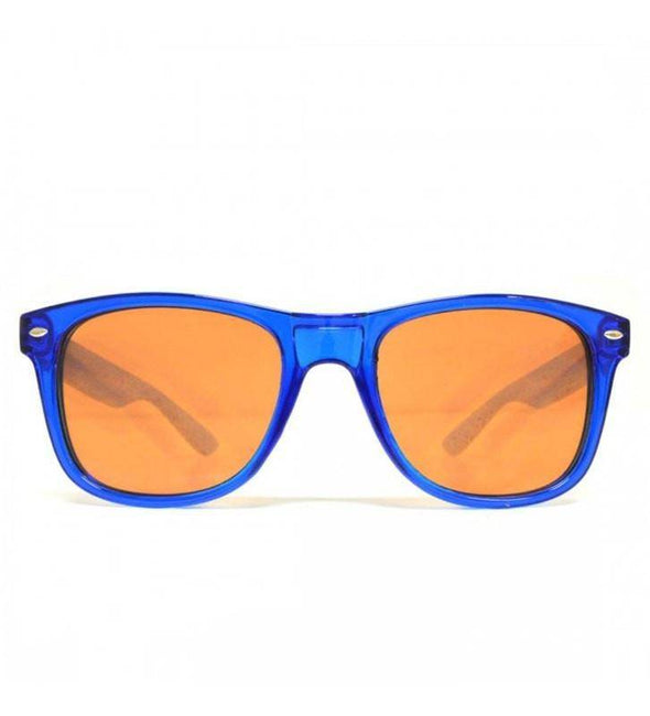 GloFX Ultimate Diffraction Glasses – Transparent Blue Auburn Enhanced