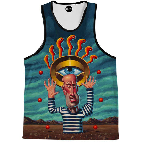 The eye Of Karma Tank Top
