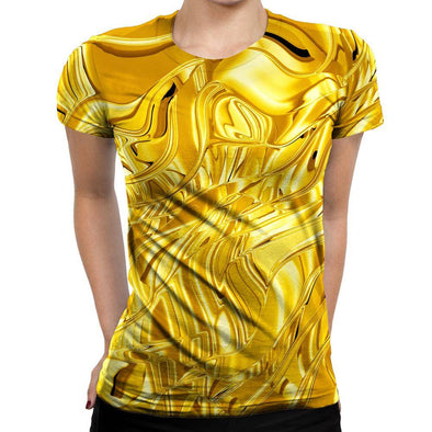 Gold Womens T-Shirt