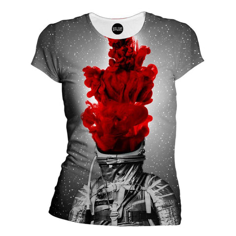 Into The Fire Womens T-Shirt