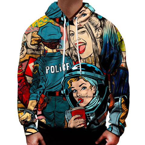 Image of Pop Art Hoodie