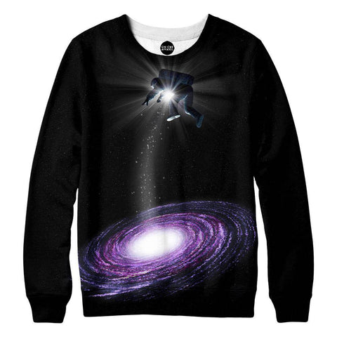 Purple-Astro Womens Sweatshirt