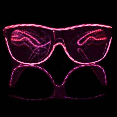 Customizable TRACER Luminescence Diffraction Glasses