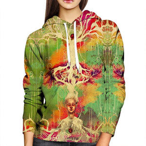 Mother Earth Womens Hoodie
