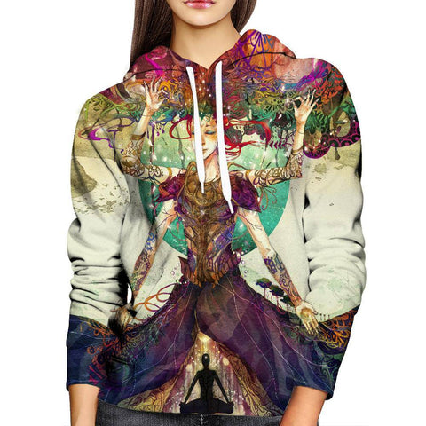 Image of Mother Earth Womens Hoodie
