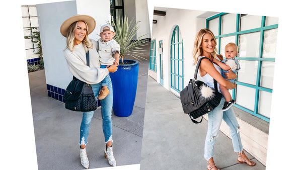 Jen Weatherall Wears Her Levy as a Backpack and Shoulder Bag