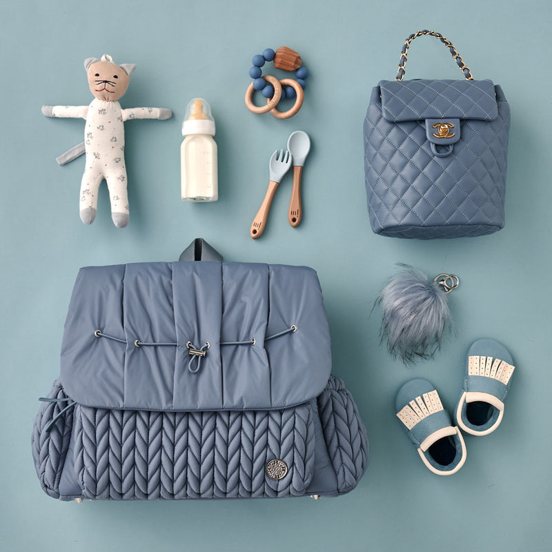Levy Backpack Ash Blue