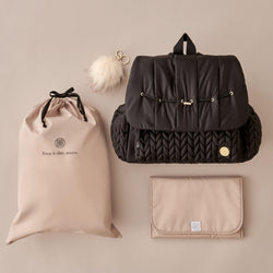 Levy Backpack Black Promo Set