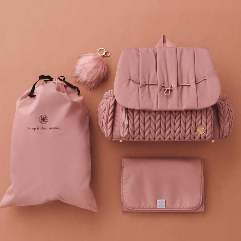 Levy Backpack Dusty Rose Promo Set