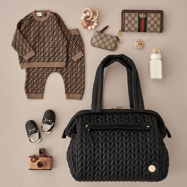 Paige Carryall Black Promo Set
