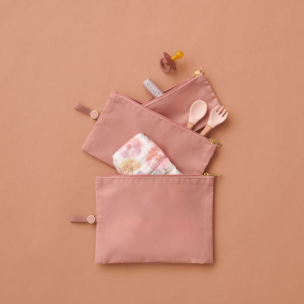 Expandable Packing Pouches Rose