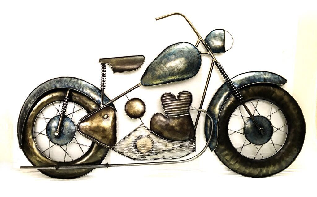 Motorcycle Wall Art - LightenUP.co