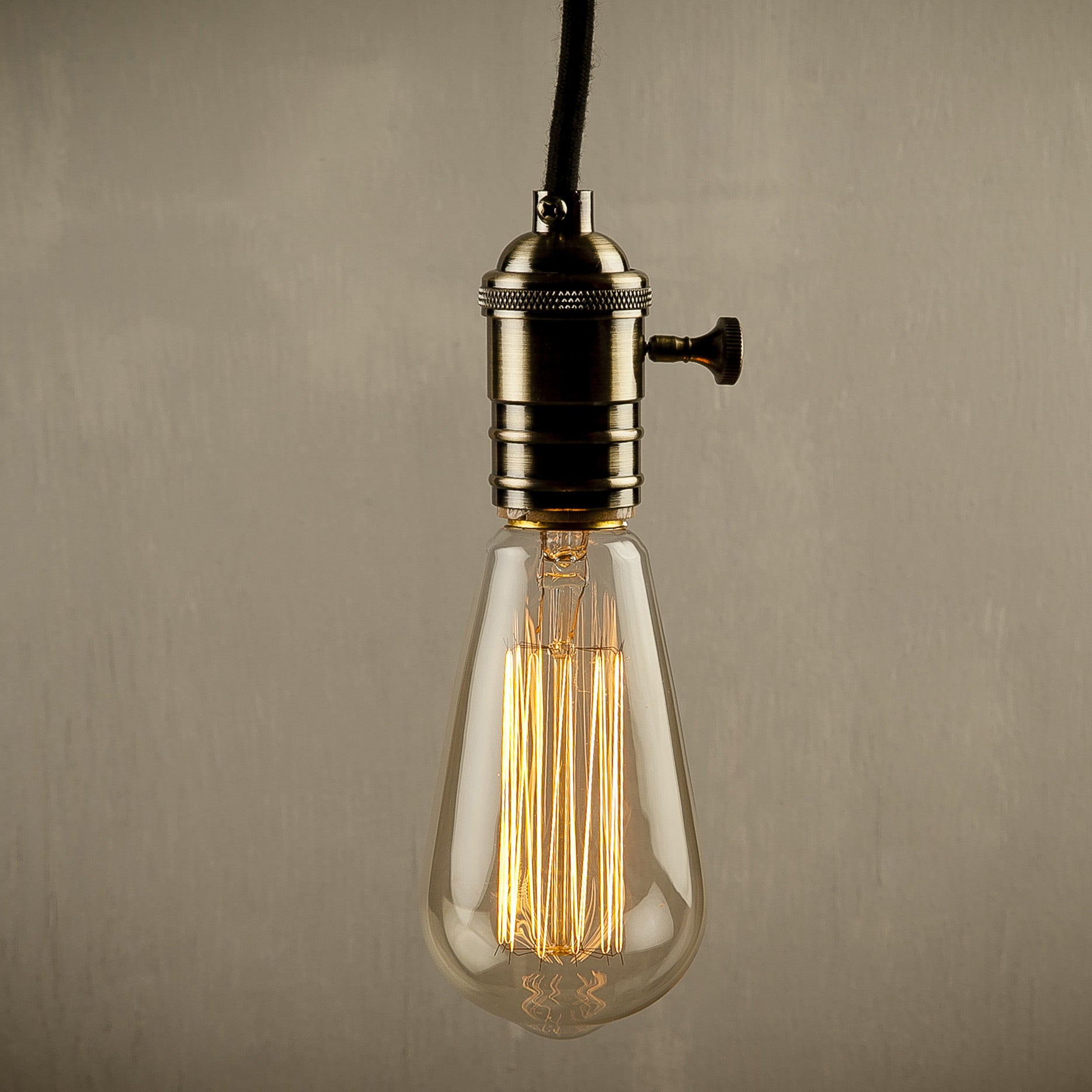 bare bulb lighting. LightenUP Hanging Lamp Bare Bulb Lighting O