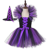 Halloween Costume Vampire Witch Costume Halloween Tutu Dresses for Girls