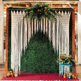 Ivory Wedding Ceremony Backdrop Hanging Garland Reception Decorations Wall Decoration