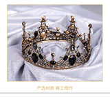 Girls Black Princess Tiara for Little Girls and Big Girls Birthday and Wedding