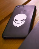 Alienbeard Sticker - White