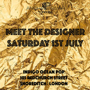 Meet the designer | Saturday 1st July  | Shoreditch | London