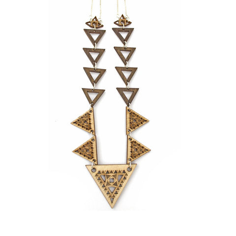 Anisha Parmar London Trikon Necklace